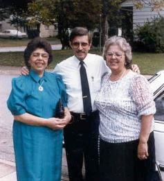 Gloria Delopez, Edwin and Enery Perez