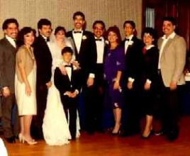 Ivan, Lyana, Peter, Mary Beth, Joe, Freddy, Evelyn, Danny,Maida, Robert & Ronnie